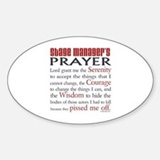 Stage Manager's Prayer Decal