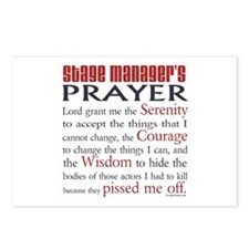 Stage Manager's Prayer Postcards (Package of 8)