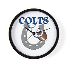 Colts 1 Wall Clock