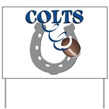 Colts 1 Yard Sign
