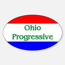 Ohio Progressive Oval Decal