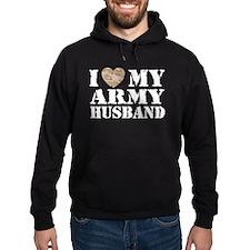 I Love My Army Husband Hoodie