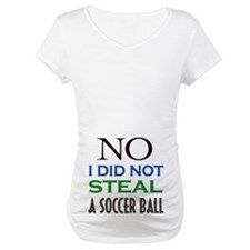 No I did not steal a soccer ball Shirt