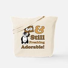 Adorable 60th Birthday Tote Bag