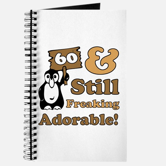 Adorable 60th Birthday Journal