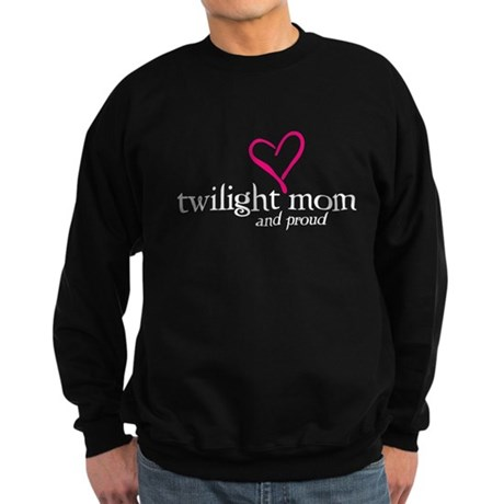 Proud Twilight Mom Sweatshirt (dark)