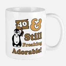 Adorable 40th Birthday Mug