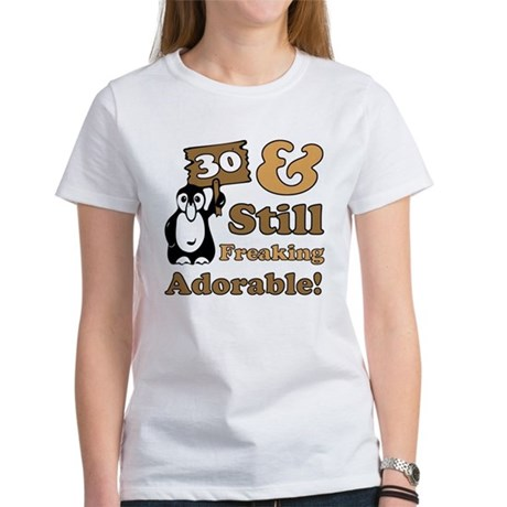 Adorable 30th Birthday Women's T-Shirt