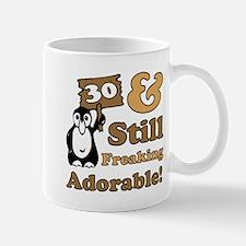Adorable 30th Birthday Mug