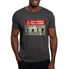 Don't Shoot the Living Zombie T-Shirt