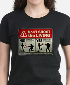Don't Shoot the Living Zombie Tee