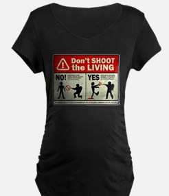 Don't Shoot the Living Zombie T-Shirt