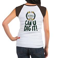 Dig It G/Y 2 Sided Women's Cap Sleeve T-Shirt