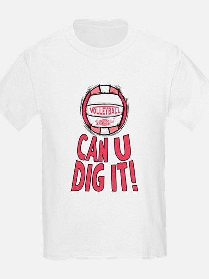 Can U Dig It Pink T-Shirt