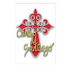 Camino De Santiago Postcards (Package of 8)