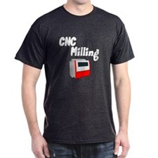CNC Milling Machine T-Shirt