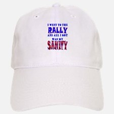 Back from the Sanity Rally Baseball Baseball Cap
