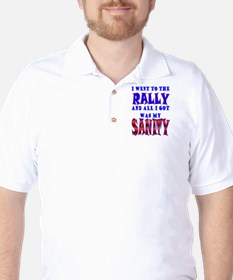 Back from the Sanity Rally T-Shirt