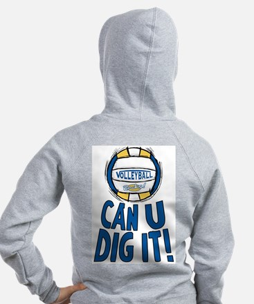Dig It B/Y 2 Sided Zip Hoody