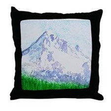 Mt Hood, Oregon Throw Pillow