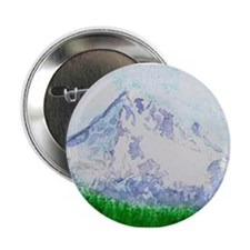 "Mt Hood, Oregon 2.25"" Button"