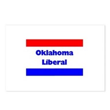 Oklahoma Liberal Postcards (Package of 8)