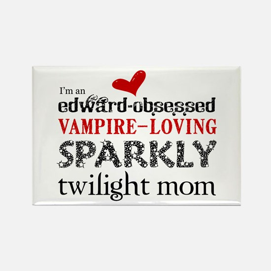 Sparkly Twilight Rectangle Magnet