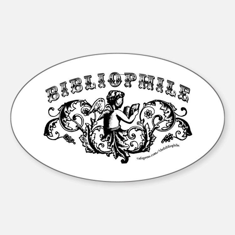 Bibliophile: Reading Cherub Decal