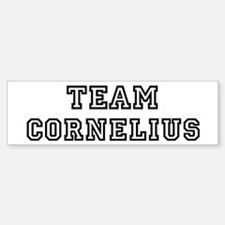 Team Cornelius Bumper Bumper Bumper Sticker