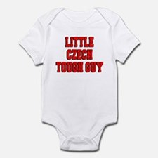 Little Czech Tough Guy Infant Bodysuit