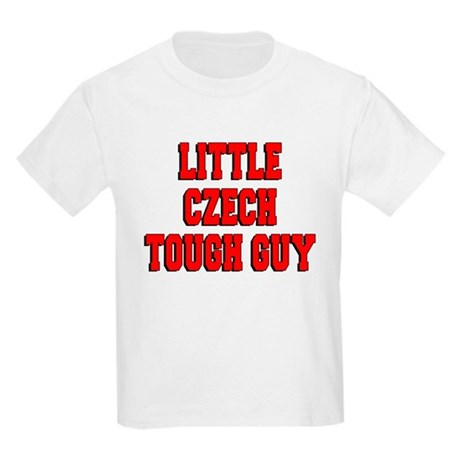 Little Czech Tough Guy Kids Light T-Shirt