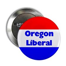 Oregon Liberal Button