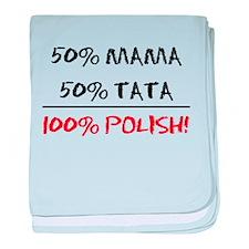 100% Polish baby blanket