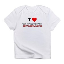 I Love Babcia Infant T-Shirt