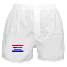 Pennsylvania Democrat Boxer Shorts