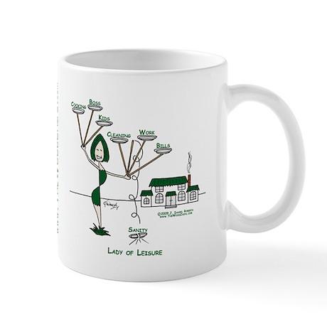 Lady of Leisure Mug