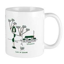 Lady of Leisure Mug
