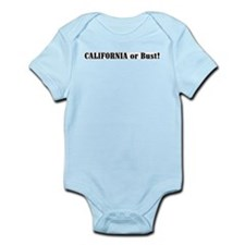 California or Bust! Infant Creeper