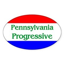 Pennsylvania Progressive Oval Decal