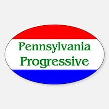 Pennsylvania Progressive Oval Decal