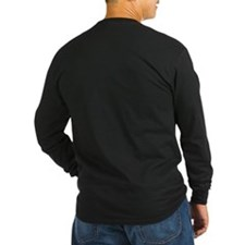 Funny Back logo Hoodie