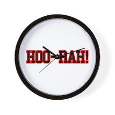 HOO RAH Wall Clock