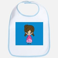 Cute Little Geisha Girl Babies Bib