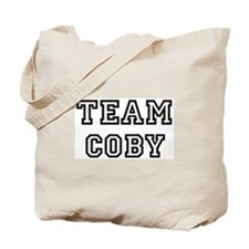 Team Coby Tote Bag