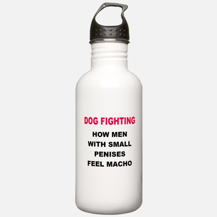 Dog Fighting Water Bottle