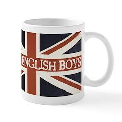 I Love English Boys Mug
