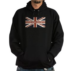 I Love English Boys Hoodie