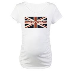 I Love English Boys Shirt