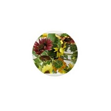 Unique Sunflower Mini Button (100 pack)