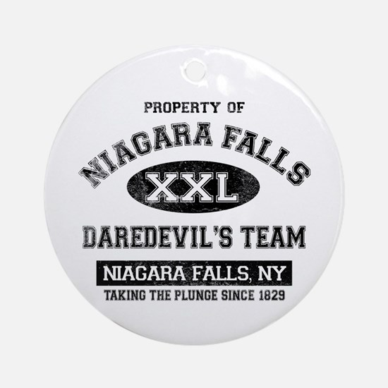 Property of Niagara Falls Ornament (Round)